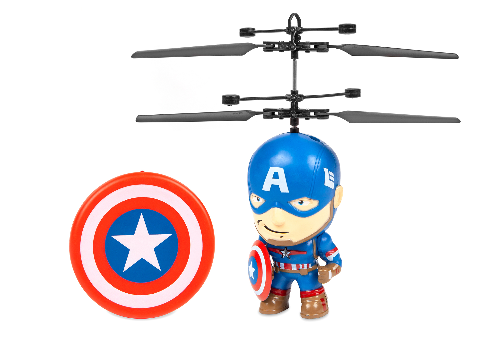 Marvel 3.5 Inch Captain America Flying Figure IR Helicopter