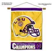 "LSU Tigers National 2019 Football Champions 30"" x 40"" Banner"