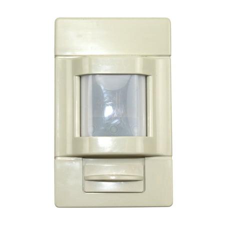 (Sensor Switch Hwr-13 Ivory Hallway Occupancy Sensor Wall Mount Line Voltage Passive Infrared Pir 130 Ft)