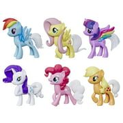 My Little Pony Rainbow Tail Surprise: Pack of 6 3-In Color Change Pony