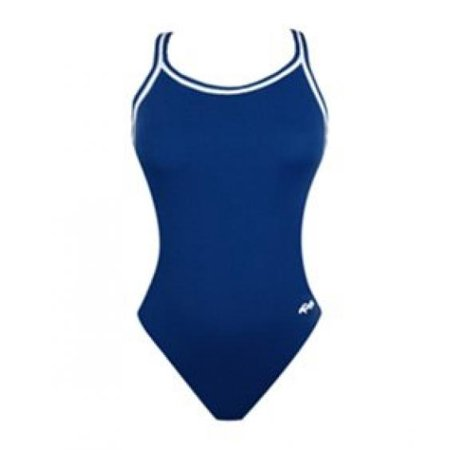 Dolfin Women's Solid All-Poly DBX Back Swimsuit - Only Size 26
