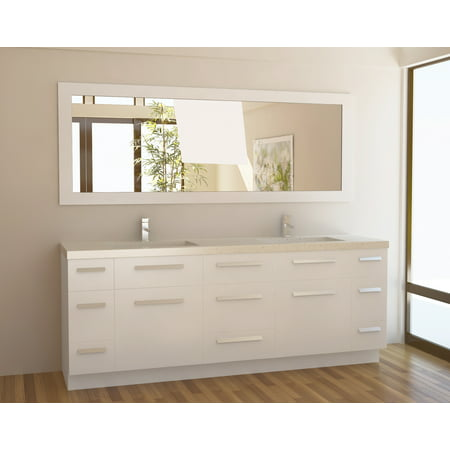 Double Sink Vanity Top (Design Element Moscony 84