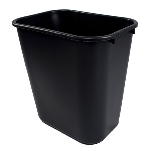 Trashcan, Black, 7gal