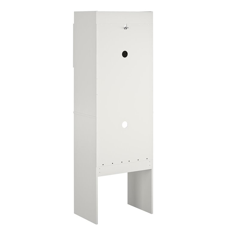 White Storage Cabinet Ameriwood Home Clarkson Mini Refrigerator