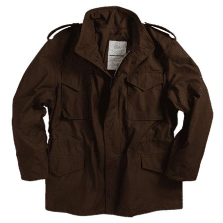 Alpha Industries Coats - Jacket, M-65 Alpha Brown, size 2XL