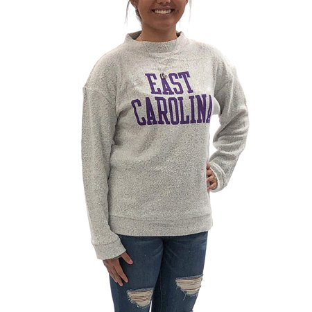 University of East Carolina Pirates Womens Apparel Comfy Terry Sweatshirt Clothing