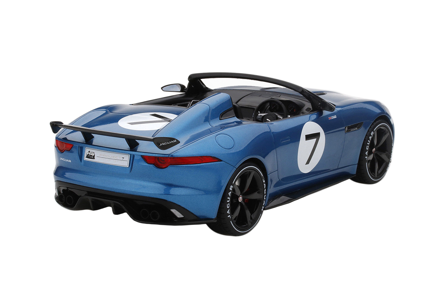 JAGUAR F-TYPE PROJECT 7 #7 BLUE CONCEPT LTD TO 999pc 1//18 BY TOP SPEED TS0035