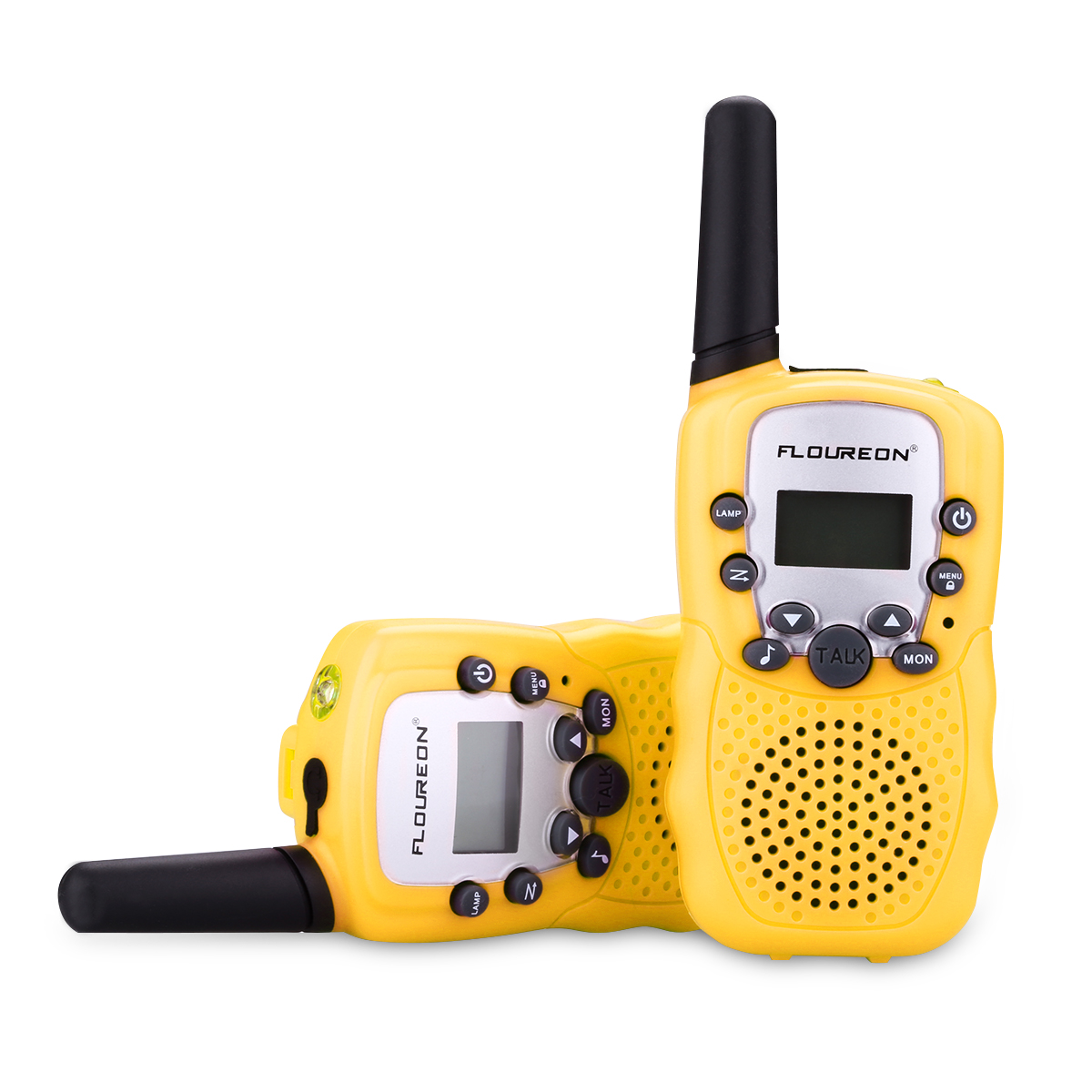 Walkie Talkies Two Way Radios, FLOUREON 22 Channel 3000M (MAX 5000M open field) UHF Outdoor Long Range Handheld Talkies Talky for NERF Kids Adults