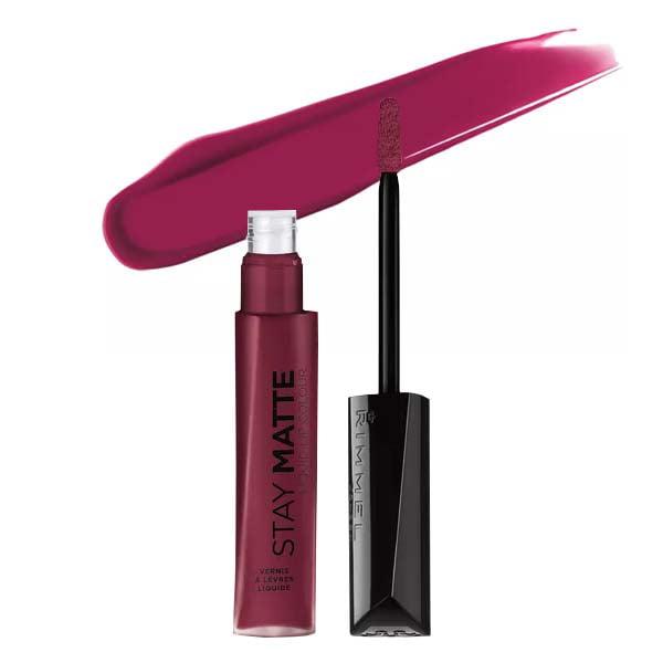 (3 Pack) RIMMEL LONDON Stay Matte Liquid Lip Color - Plum This Show