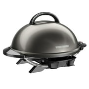 Best Grill Indoors - George Foreman 15+ Serving Indoor/Outdoor Electric Grill, Gun Review