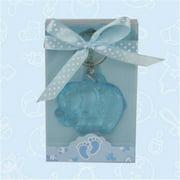 De Yi Enterprise Inc.  27006-BL Cute Blue Elephant Acrylic Keychain