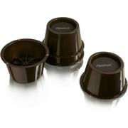 "Slipstick 2"" Tall Premium Furniture Risers, Chocolate Brown, Set Of 4"
