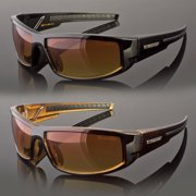 507e832154b Cool Flip Up Lens Steampunk Vintage Retro Style Round Sunglasses Tortoise  Gold Image 1 of 1