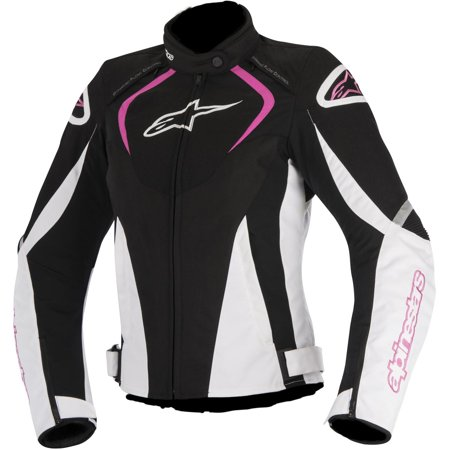 Alpinestars Motorcycle Jacket >> Alpinestars Stella T Jaws Air Womens Motorcycle Jacket Black White