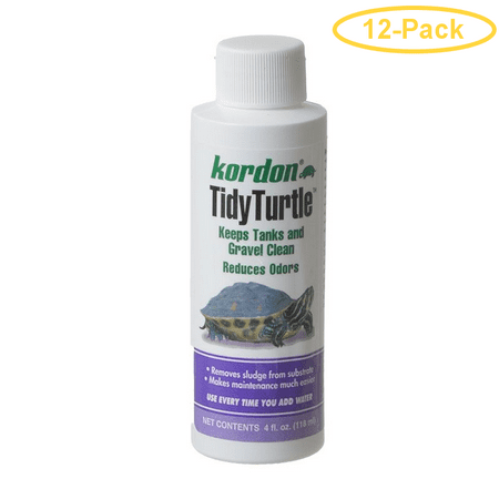 Kordon Tidy Turtle Tank Cleaner 4 oz - Pack of 12