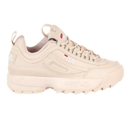 cb4f7da50b5 Fila - Fila Disruptor II Sneaker - Peach Blush/White/Fila Red - Womens -  9.5 - Walmart.com
