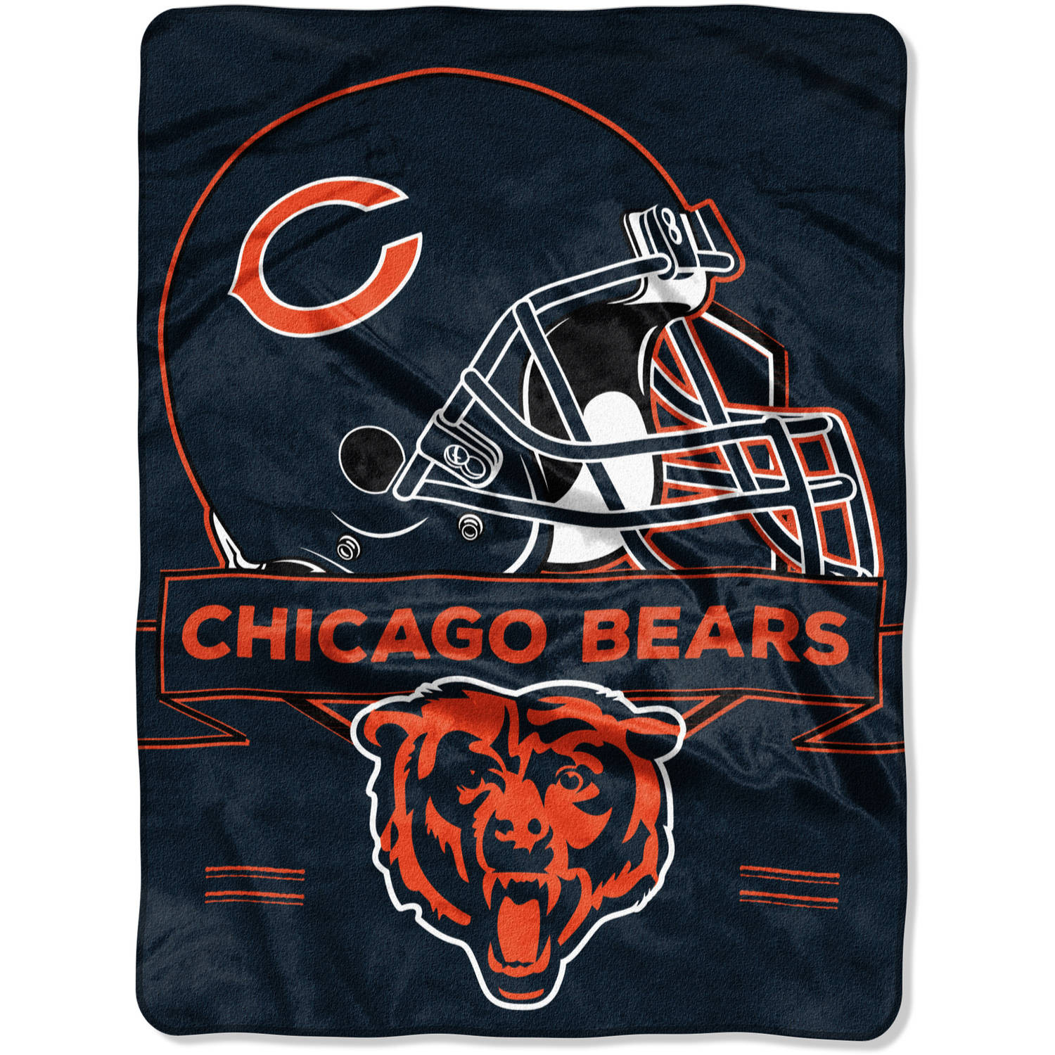 "NFL Chicago Bears ""Prestige"" 60"" x 80"" Raschel Throw"