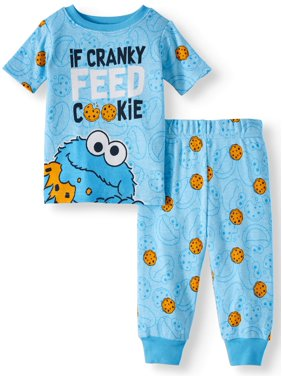 1a486d3872 Product Image Sesame Street Cotton tight fit pajamas, 2pc set (baby boys)