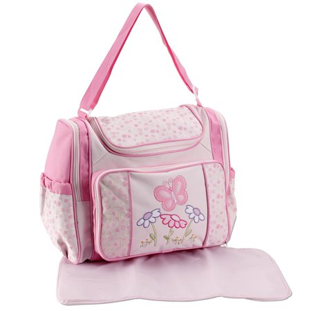 Baby Connection Pink Diaper Bag