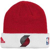 b258a220b04 Product Image Portland Trail Blazers Adidas NBA 2015 Authentic Team Cuffed Knit  Hat