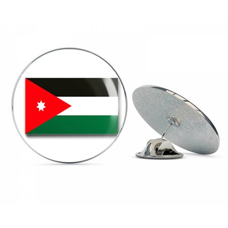 Jordan Flag  Steel Metal 0.75