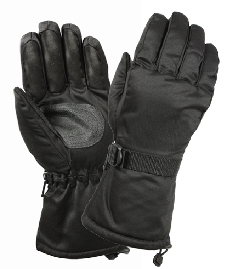 Rothco Black Xtra Long Insulated Gloves by Rothco