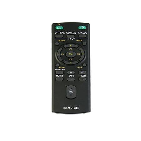 New RM-ANU159 RMANU159 remote control for Sony Audio Systems Soundbar HT-CT60 C