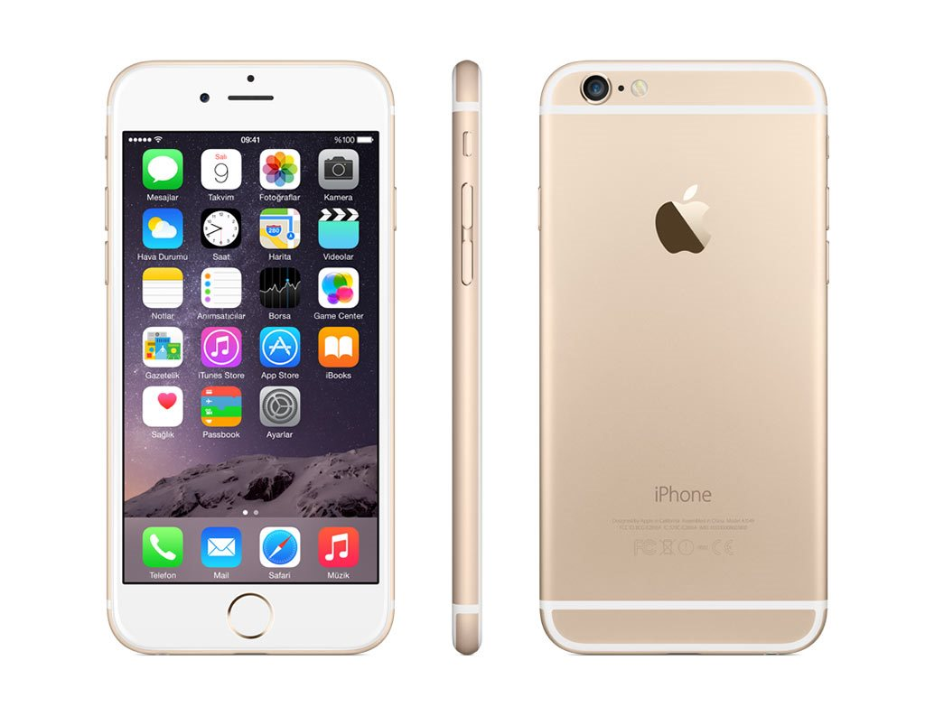 Certified Refurbished Refurbished Apple Iphone 6 Plus 64GB GSM Unlocked IOS Smartphone - Gold