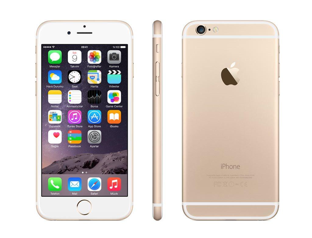 iphone unlocked. b-grade apple iphone 6 plus 16gb gsm unlocked ios smartphone - gold