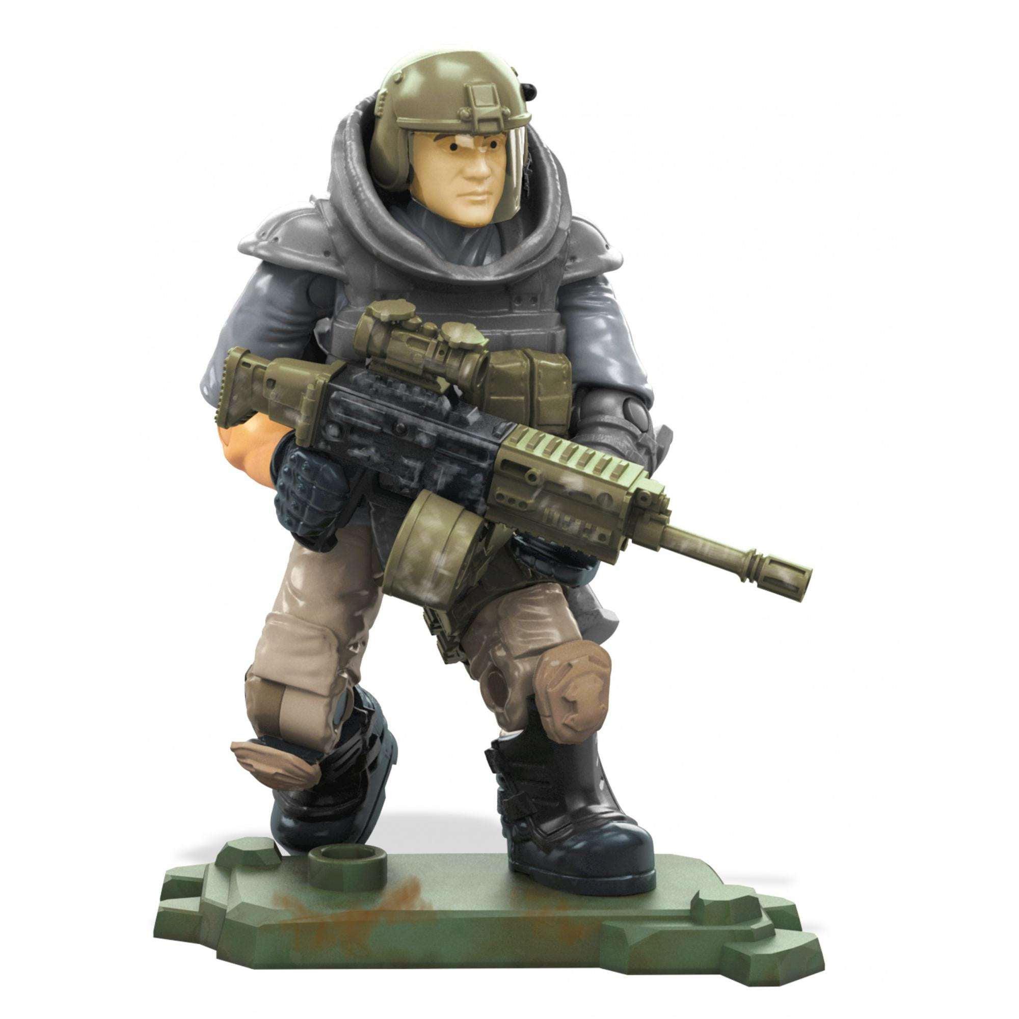 Mega Construx Call Of Duty Yuri Action Figure Walmart Com Walmart Com