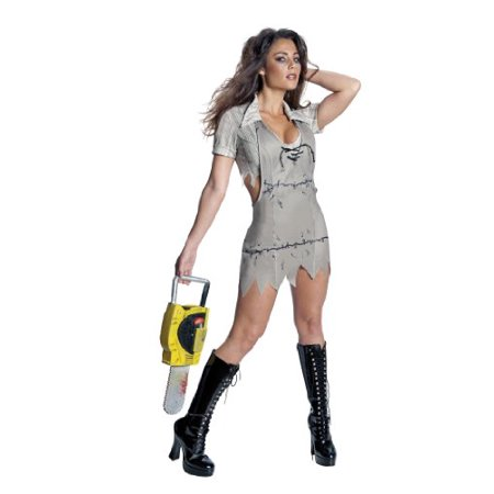 Secret Wishes  Women's Texas Chainsaw Massacre Miss Leatherface Costume, Standard Color,