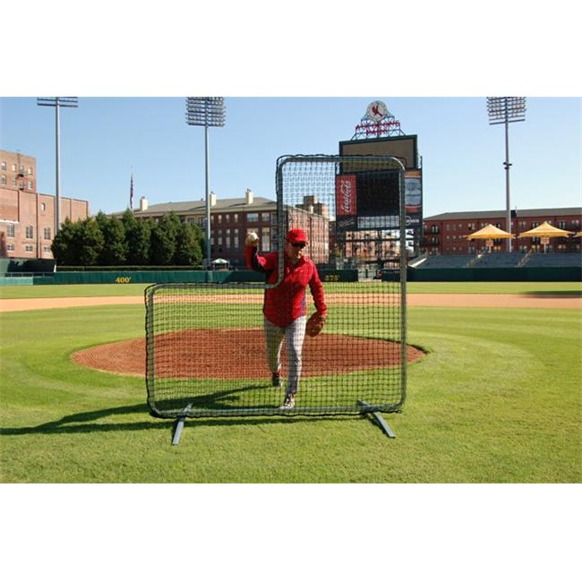 Trigon Sports B427744N ProCage Pitcher s L-Screen Replacement Net 7 ft.  x 7 ft