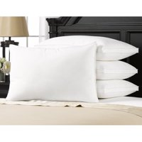 Overstuffed Luxury Plush Med/Firm Gel Filled Side/Back Standard Sleeper Pillow - Set of Four