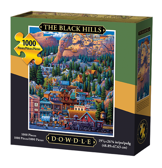 Dowdle Jigsaw Puzzle The Black Hills 1000 Piece by Maisto