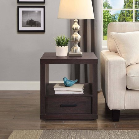 Better Homes And Garden Steele End Table Espresso Finish Best Accent Tables