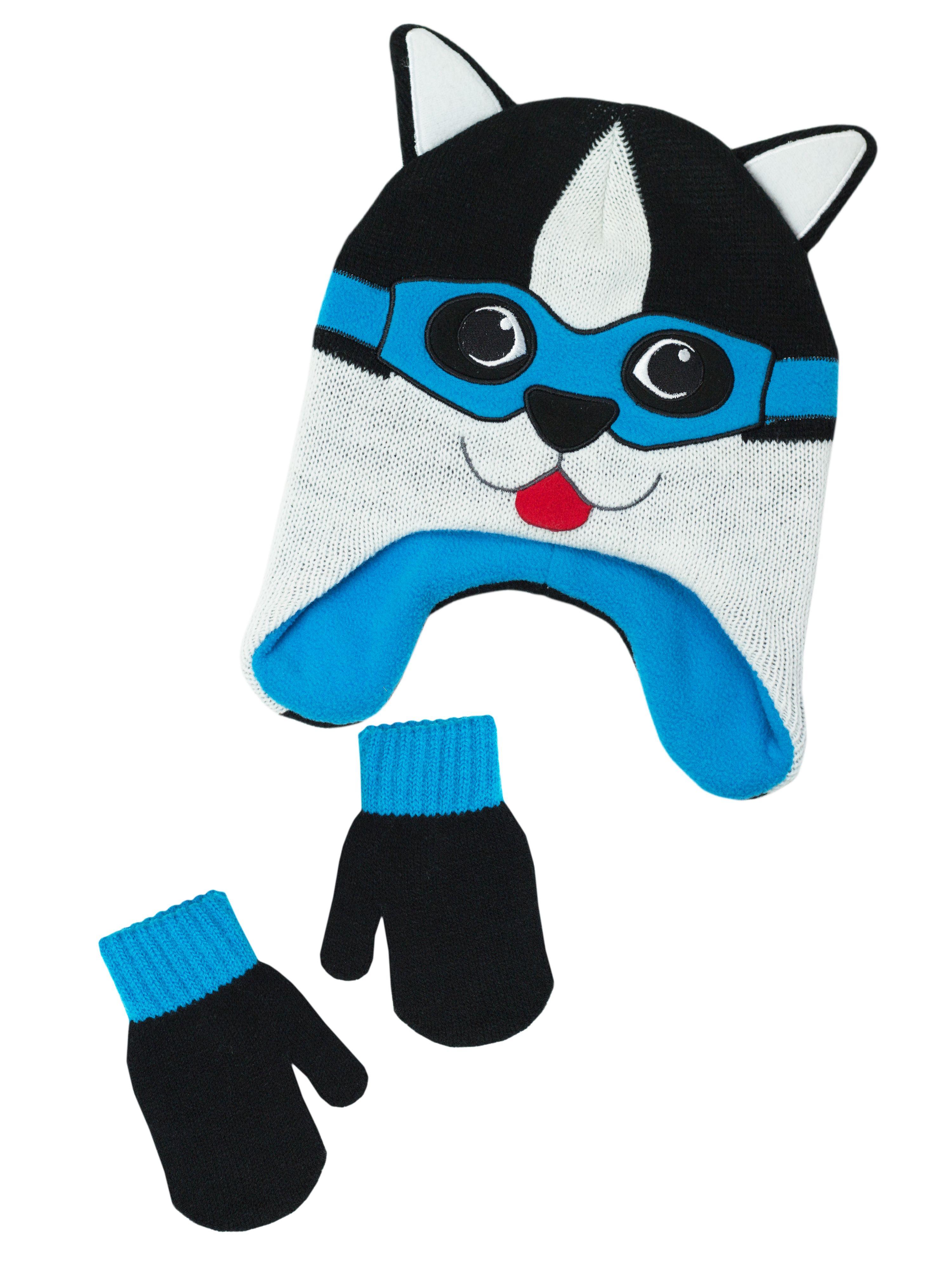 Infant Toddler Boys Hat And Glove Sets