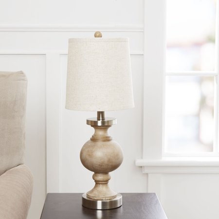 Better Homes And Gardens Weathered Finish Table Lamp
