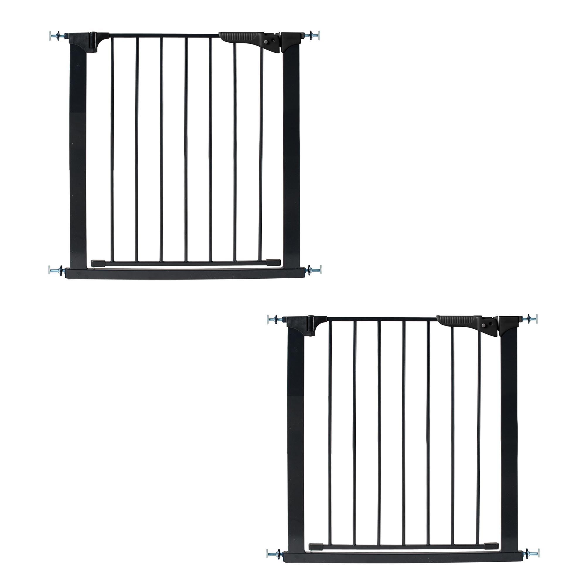 KidCo G1001 Gateway Steel Baby and Kids Doorway Safety Gate, Black (2 Pack) by Kidco