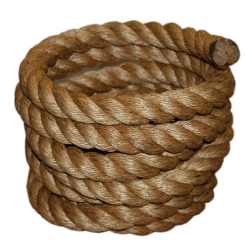 T.W . Evans Cordage 30-097-50 1-1/2-Inch by 50-Feet Pure Number-1 Manila Rope