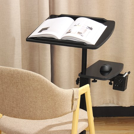Double Lifting 360 Degree Rotating Lazy Laptop Table Cooling Floor Removable Bedside Table Land Table