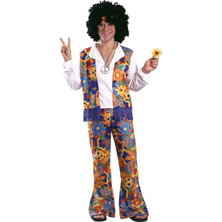 Morris Costumes Adult Mens Retro 1970s Hippie Costume One Size, Style RU15697 - 1970s Costumes Ideas