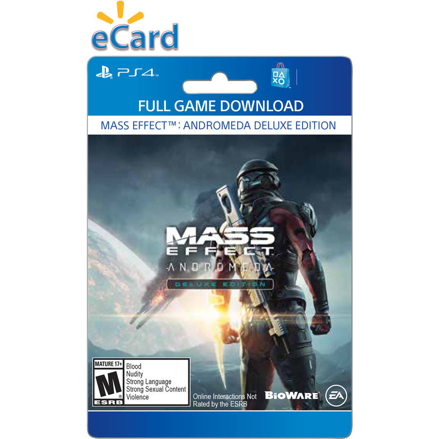Sony Mass Effect: Andromeda Deluxe Edition (Email Delivery)