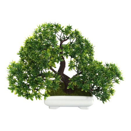 Mrosaa Artificial Bonsai Tree with Pot Artificial Tree and Plant Decoration for Home Office Desk Decor](Desk Decoration)