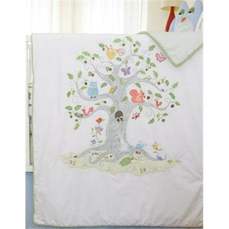 Little Acorn S11B02 Wishing tree coverlet - image 1 of 1