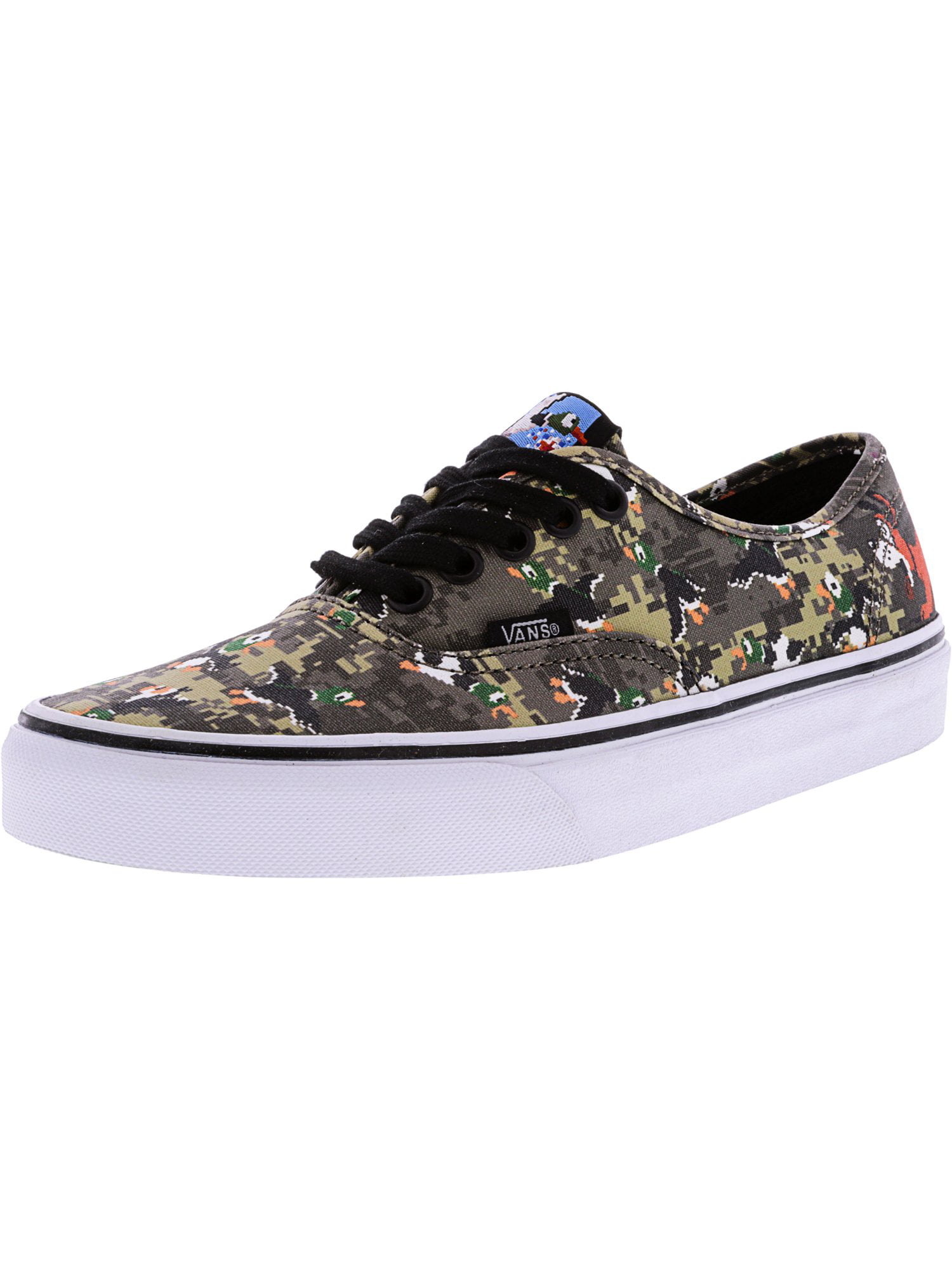 864ae643a72 Vans - Vans Authentic Nintendo Princess Peach Ankle-High Canvas  Skateboarding Shoe - 8.5M   7M - Walmart.com