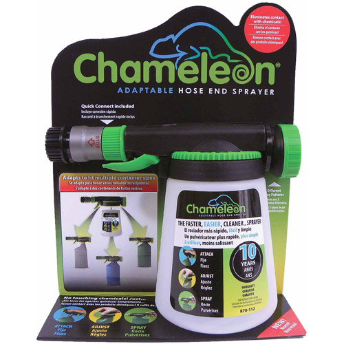 Hudson Chameleon Adaptable Hose End Sprayer, 32 oz