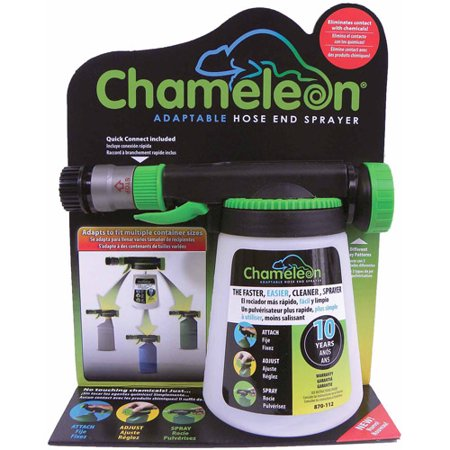 Hudson Chameleon Adaptable Hose End Sprayer, 32 oz (32 Fl Oz Power Sprayer)