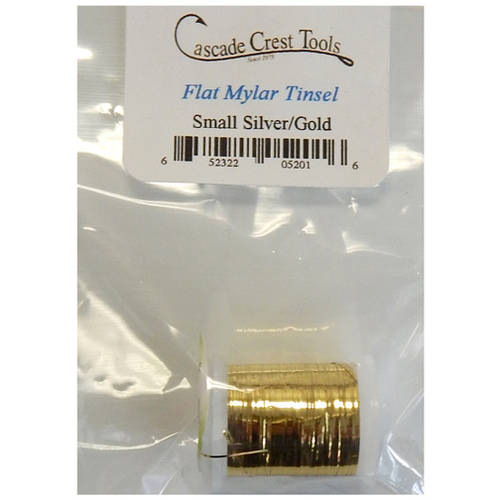 Cascade Crest Flat Mylar Tinsels, Medium