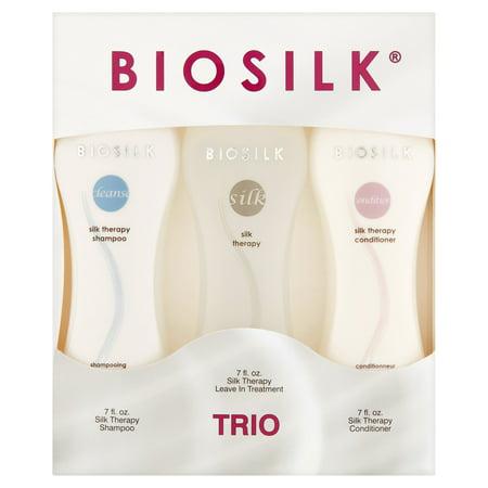 ($39.98 Value) BioSilk Silk Therapy Trio Gift Set, 7 Oz Each