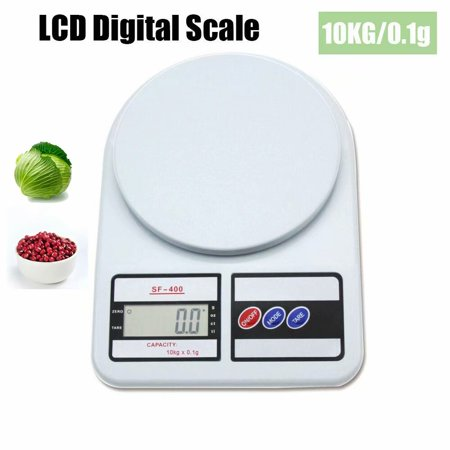 Cyber Monday Clearance!!!22lb 10KG/0.1g Digital Kitchen Scale Weight Grams and oz for Cooking Baking Highly Accurate Multifunction Food Scale